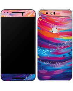 Rainbow Wave Brush Stroke Google Nexus 6P Skin
