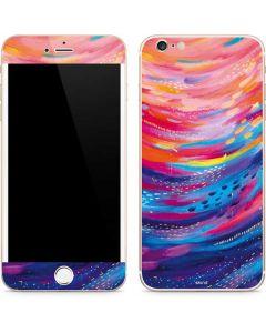 Rainbow Wave Brush Stroke iPhone 6/6s Plus Skin