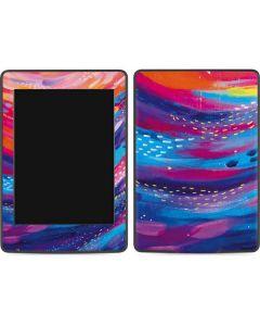 Rainbow Wave Brush Stroke Amazon Kindle Skin