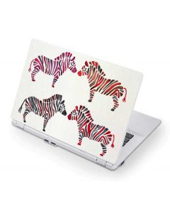 Rainbow Zebras Acer Chromebook Skin
