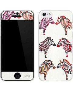 Rainbow Zebras iPhone 5c Skin