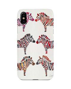 Rainbow Zebras iPhone XS Max Lite Case