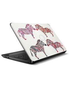 Rainbow Zebras HP Notebook Skin