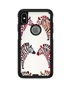 Rainbow Zebras Otterbox Commuter iPhone Skin