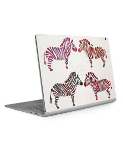 Rainbow Zebras Surface Book 2 13.5in Skin