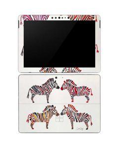 Rainbow Zebras Surface Go Skin