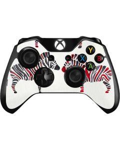 Rainbow Zebras Xbox One Controller Skin