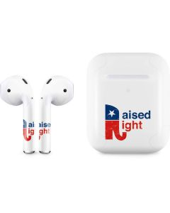 Raised Right Apple AirPods 2 Skin