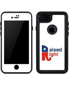 Raised Right iPhone SE Waterproof Case