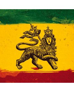 The Lion of Judah Rasta Flag Apple MacBook Pro Skin