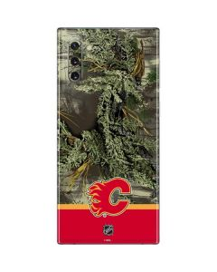 Realtree Camo Calgary Flames Galaxy Note 10 Skin