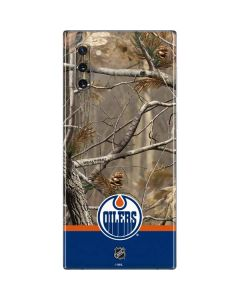 Realtree Camo Edmonton Oilers Galaxy Note 10 Skin