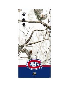 Realtree Camo Montreal Canadiens Galaxy Note 10 Skin