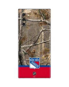 Realtree Camo New York Rangers Galaxy Note 10 Skin