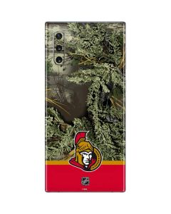 Realtree Camo Ottawa Senators Galaxy Note 10 Skin