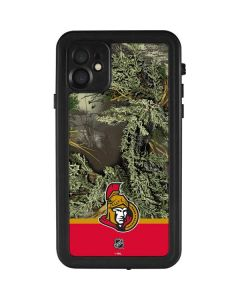 Realtree Camo Ottawa Senators iPhone 11 Waterproof Case