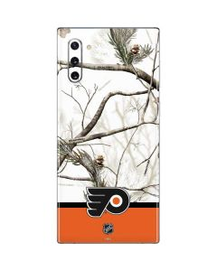 Realtree Camo Philadelphia Flyers Galaxy Note 10 Skin