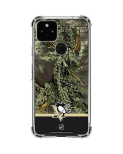 Realtree Camo Pittsburgh Penguins Google Pixel 4a 5G Clear Case