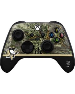 Realtree Camo Pittsburgh Penguins Xbox Series X Controller Skin