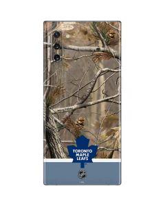 Realtree Camo Toronto Maple Leafs Galaxy Note 10 Skin