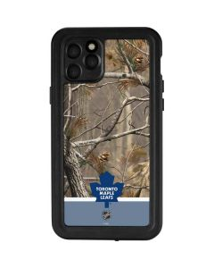 Realtree Camo Toronto Maple Leafs iPhone 11 Pro Waterproof Case