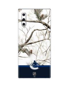 Realtree Camo Vancouver Canucks Galaxy Note 10 Skin
