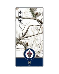 Realtree Camo Winnipeg Jets Galaxy Note 10 Skin