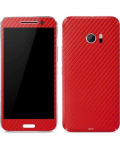 Red Carbon Fiber 10 Skin