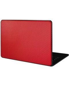 Red Carbon Fiber Google Pixelbook Go Skin
