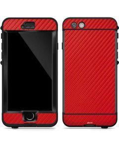 Red Carbon Fiber LifeProof Nuud iPhone Skin