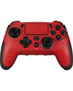 Red Carbon Fiber PlayStation Scuf Vantage 2 Controller Skin