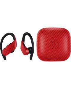 Red Carbon Fiber PowerBeats Pro Skin