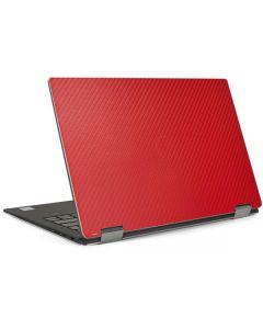 Red Carbon Fiber Dell XPS Skin