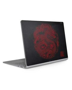 Red Dragon Surface Book 2 15in Skin