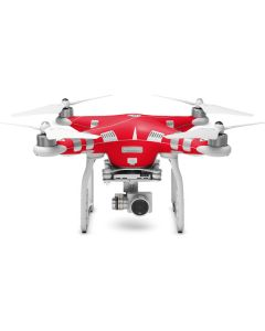 Red DJI Phantom 3 Skin