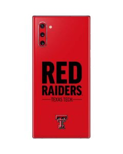 Red Raiders Galaxy Note 10 Skin