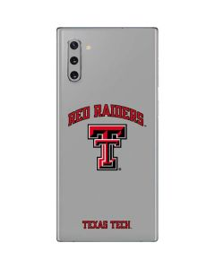 Red Raiders Texas Tech Galaxy Note 10 Skin