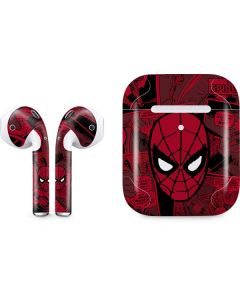 Red Spider-Man Comics Apple AirPods 2 Skin