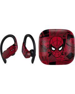 Red Spider-Man Comics PowerBeats Pro Skin