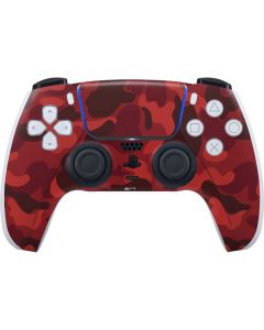 Red Street Camo PS5 Controller Skin