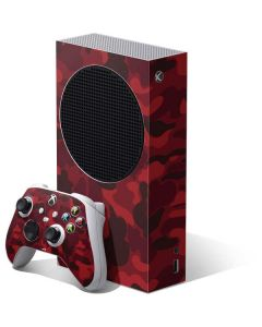 Red Street Camo Xbox Series S Bundle Skin