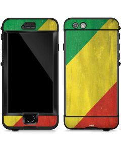 Republic of the Congo Flag Distressed LifeProof Nuud iPhone Skin