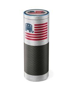 Republican American Flag Amazon Echo Skin