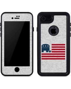 Republican American Flag iPhone SE Waterproof Case