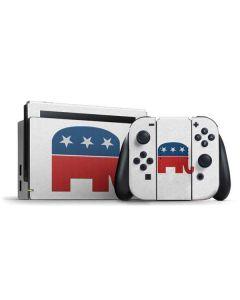 Republican Elephant Nintendo Switch Bundle Skin