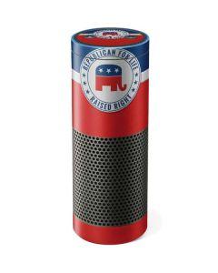 Republican For Life Amazon Echo Skin