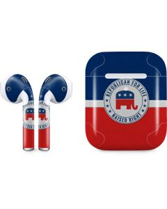 Republican For Life Apple AirPods 2 Skin