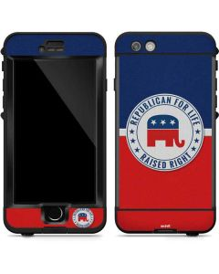 Republican For Life LifeProof Nuud iPhone Skin