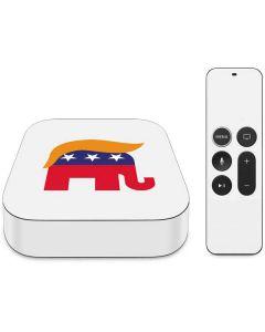 Republican Trump Hair Apple TV Skin