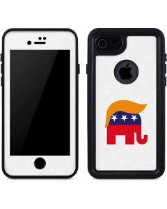 Republican Trump Hair iPhone SE Waterproof Case